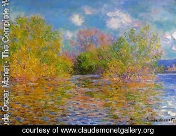 Claude Oscar Monet - The Seine Near Giverny3
