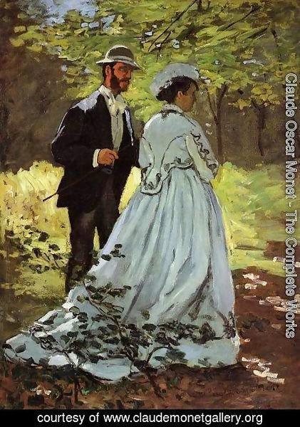 Claude Oscar Monet - The Strollers