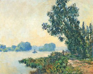 Claude Oscar Monet - The Towpath At Granval2