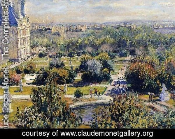 Claude Oscar Monet - The Tulleries