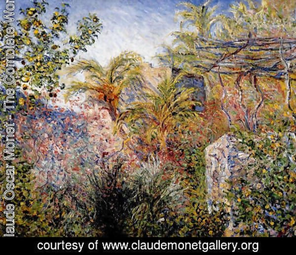 Claude Oscar Monet - The Valley Of Sasso  Bordighera