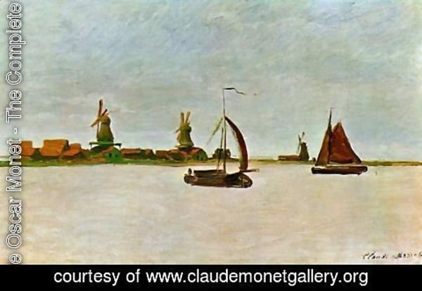 Claude Oscar Monet - The Voorzaan