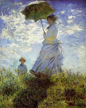 The Walk  Woman With A Parasol