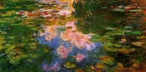 Claude Oscar Monet - The Water Lily Pond