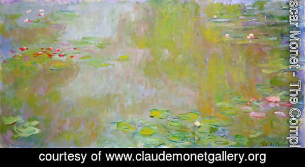 Claude Oscar Monet - The Water Lily Pond3