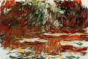 Claude Oscar Monet - The Water Lily Pond4