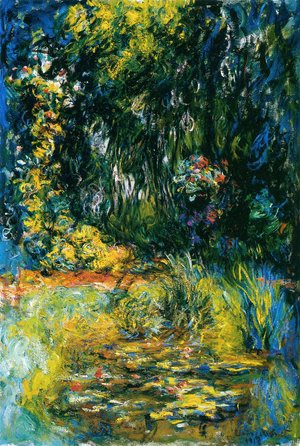 Claude Oscar Monet - The Water Lily Pond7