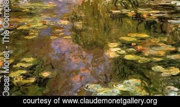 Claude Oscar Monet - The Water Lily Pond8