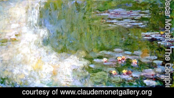Claude Oscar Monet - The Water Lily Pond11