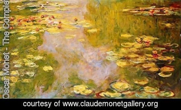 Claude Oscar Monet - The Water Lily Pond 6