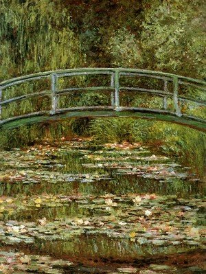 Claude Oscar Monet - The Water Lily Pond Aka Japanese Bridge