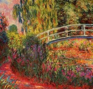 Claude Oscar Monet - The Water Lily Pond Aka Japanese Bridge2