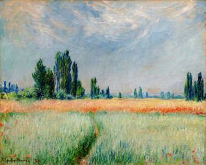 Claude Oscar Monet - The Wheat Field