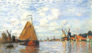 Claude Oscar Monet - The Zaan At Zaandam