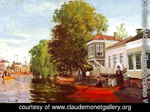 Claude Oscar Monet - The Zaan At Zaandam2