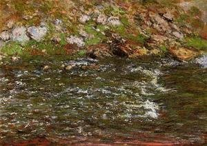 Claude Oscar Monet - Torrent Of The Petite Creuse At Freeselines