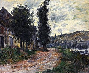Claude Oscar Monet - Tow Path At Lavacourt