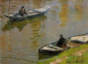 Claude Oscar Monet - Two Anglers