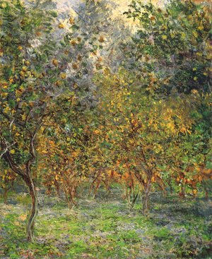 Claude Oscar Monet - Under The Lemon Trees