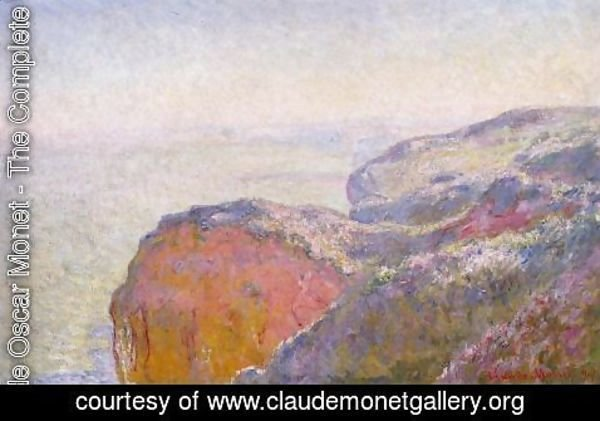 Claude Oscar Monet - Val Saint Nicolas  Near Dieppe In The Morning