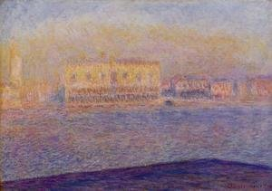 Claude Oscar Monet - Venice  The Doges Palace Seen From San Giorgio Maggiore
