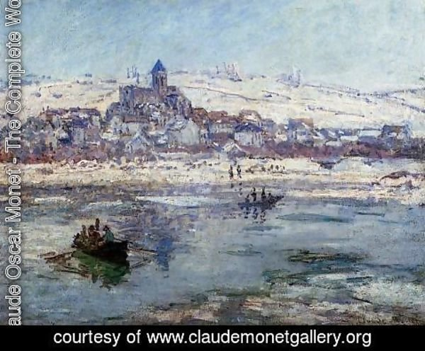 Claude Oscar Monet - Vetheuil In Winter