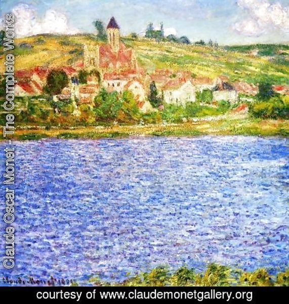 Claude Oscar Monet - Vetheuil  Afternoon