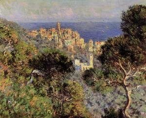 Claude Oscar Monet - View Of Bordighera