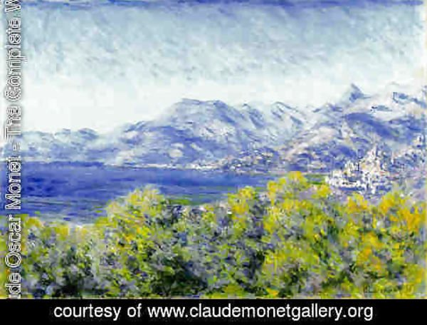 Claude Oscar Monet - View Of Ventimiglia