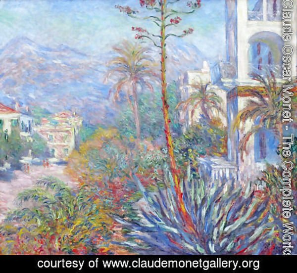 Claude Oscar Monet - Villas At Bordighera