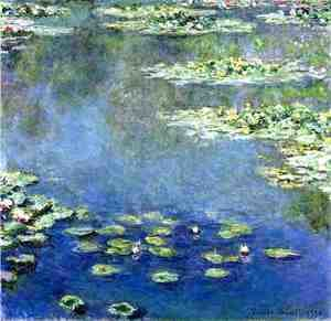 Claude Oscar Monet - Water Lilies