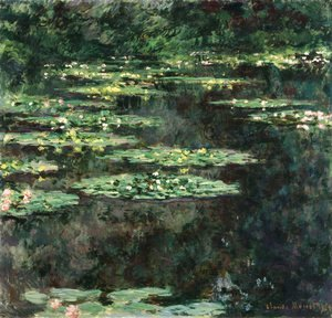 Claude Oscar Monet - Water Lilies6