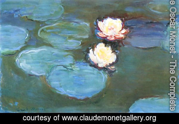Claude Oscar Monet - Water Lilies8