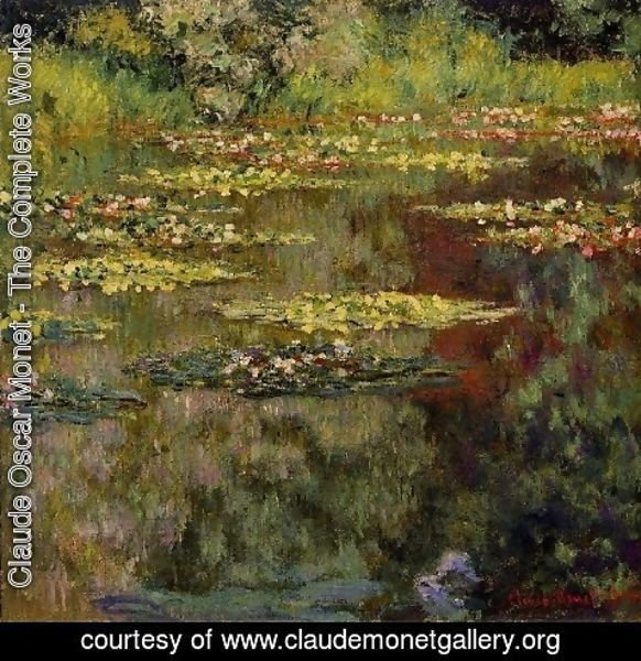 Claude Oscar Monet - Water Lilies9