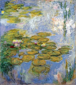 Claude Oscar Monet - Water Lilies13
