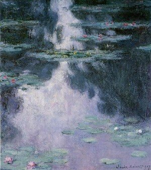 Claude Oscar Monet - Water Lilies14