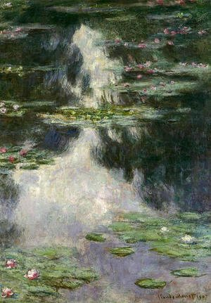 Claude Oscar Monet - Water Lilies15