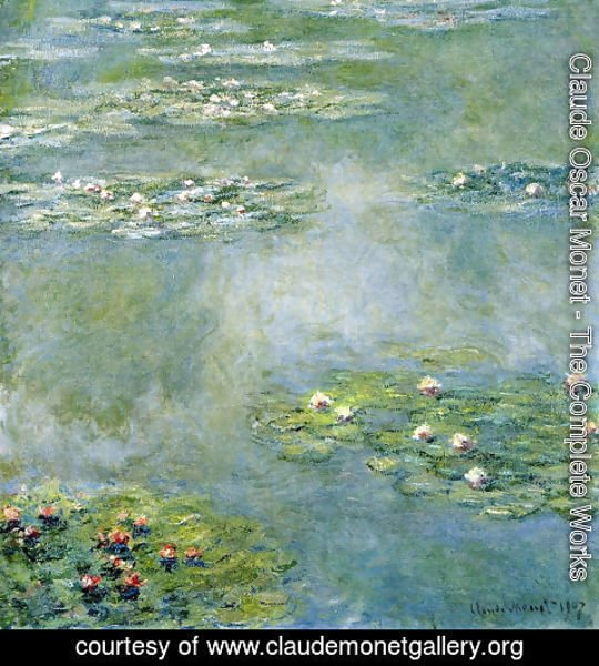 Claude Oscar Monet - Water Lilies16