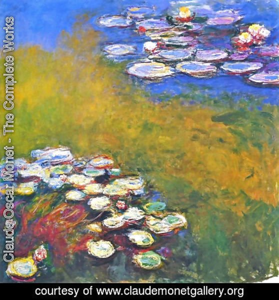 Claude Oscar Monet - Water Lilies23