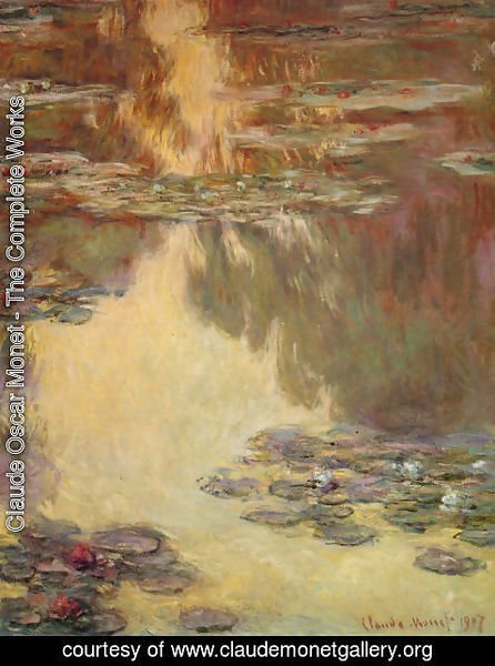 Claude Oscar Monet - Water Lilies24