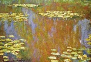 Claude Oscar Monet - Water Lilies25