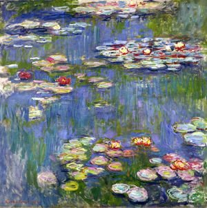 Claude Oscar Monet - Water Lilies27