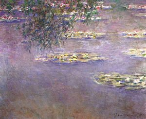 Claude Oscar Monet - Water Lilies28