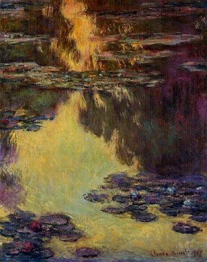Claude Oscar Monet - Water Lilies29