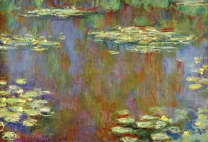 Claude Oscar Monet - Water Lilies31