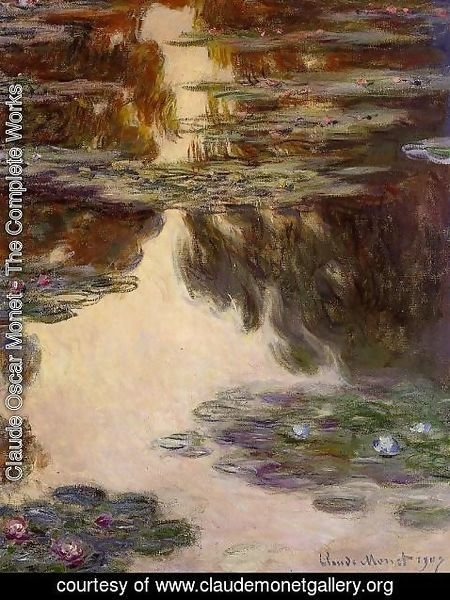Claude Oscar Monet - Water Lilies34