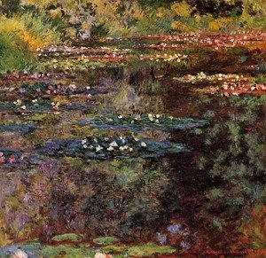 Claude Oscar Monet - Water Lilies35