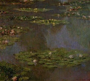 Claude Oscar Monet - Water Lilies36