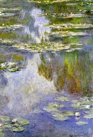Claude Oscar Monet - Water Lilies37