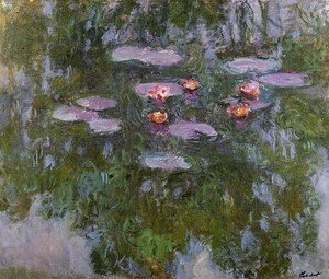 Claude Oscar Monet - Water Lilies41